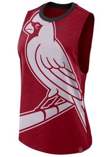 Nike Women's St. Louis Cardinals Dri-Blend Muscle Mesh Tank