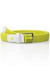 Nike Women's Stretch Woven Belt ELECTRO LIME L