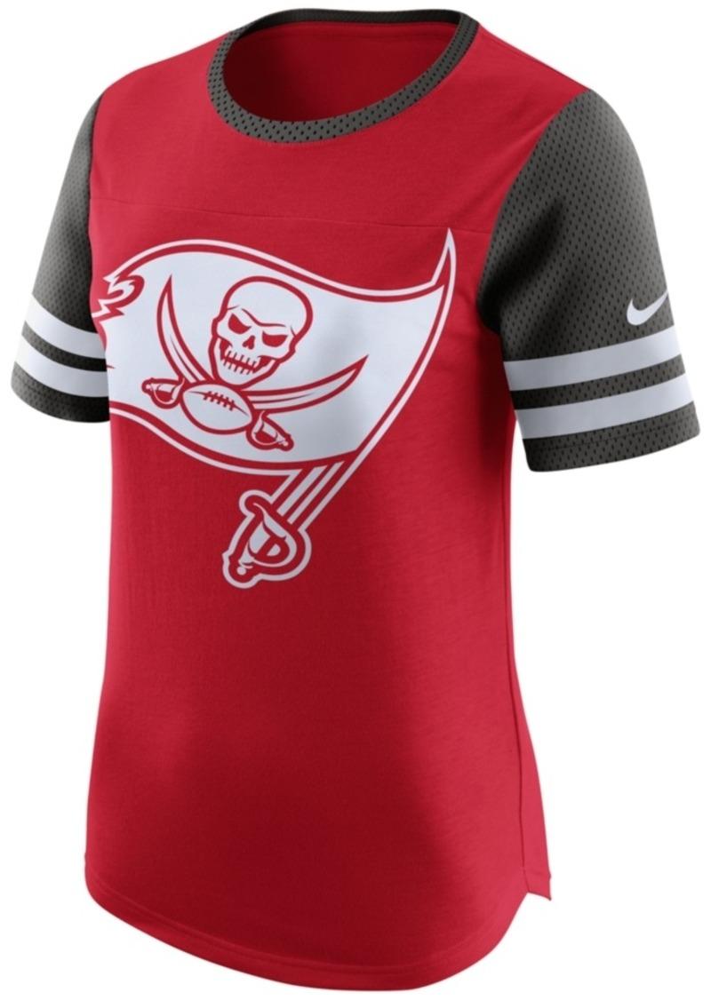 Nike Women's Tampa Bay Buccaneers Gear Up Fan Top T-Shirt