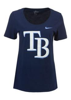 Nike Women's Tampa Bay Rays Cotton Scoop T-Shirt