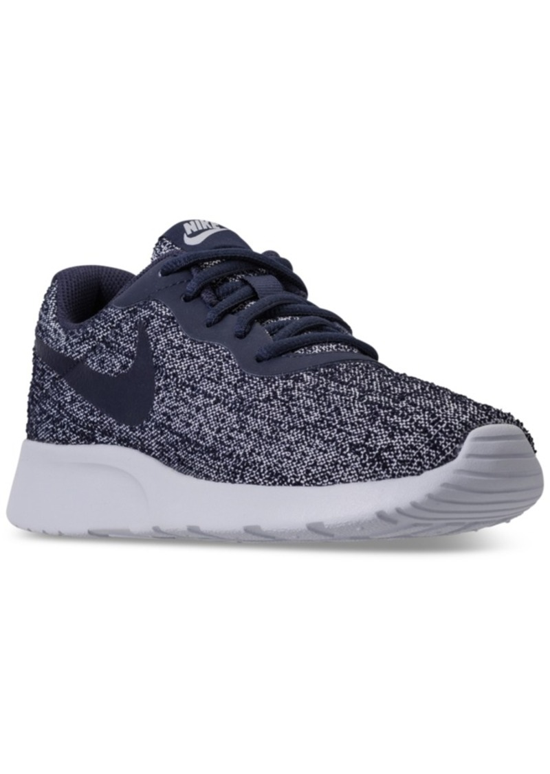 2ae848246b02 Nike Nike Women s Tanjun Indigo Casual Sneakers from Finish Line Now ...