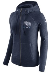 Nike Women's Tennessee Titans Gym Vintage Full-Zip Hoodie