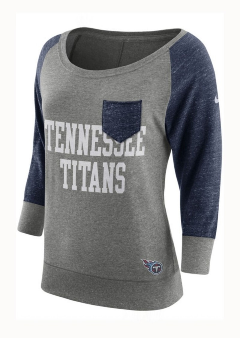 Nike Women's Tennessee Titans Vintage Crew Long Sleeve T-Shirt