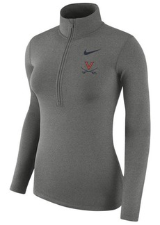 Nike Women's Virginia Cavaliers Hyperwarm Quarter-Zip Pullover
