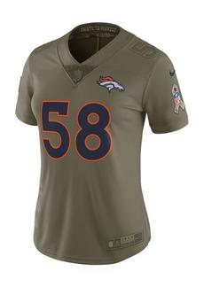 Nike Women's Von Miller Denver Broncos Salute To Service Jersey