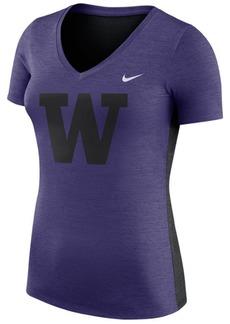 Nike Women's Washington Huskies Dri-Fit Touch T-Shirt
