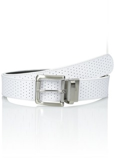 Nike Women's Wide Perforated Reversible Belt