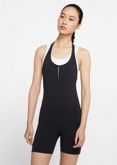 Nike Yoga luxe romper in black