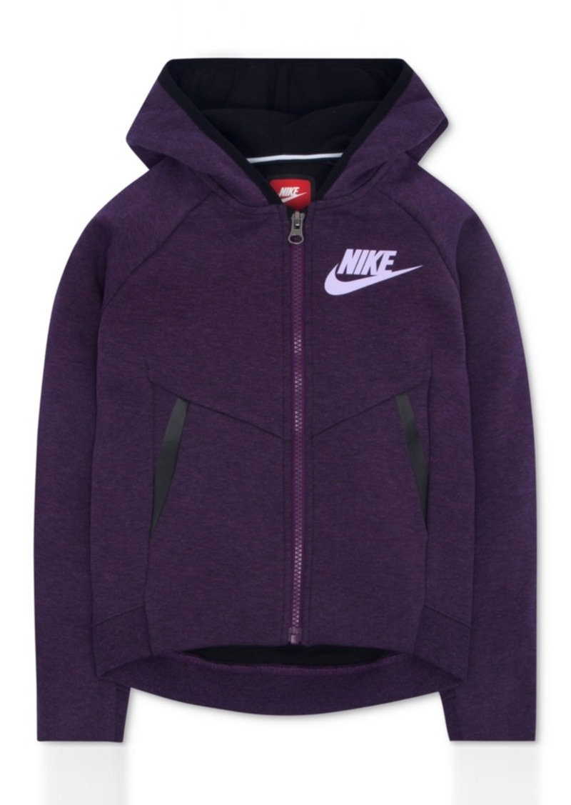 cd9f1d92b3 Nike Nike Zip-Up Tech Fleece Hoodie, Toddler Girls | Outerwear