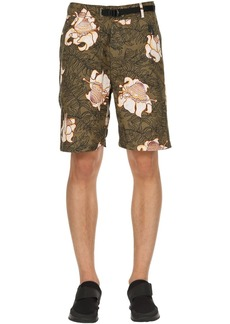 Nikelab Floral Cotton Shorts