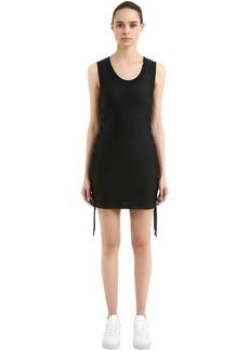 Nikelab X Rt Lace-up Mesh Jersey Dress