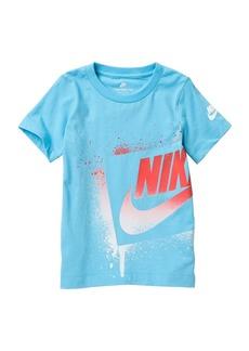 Nike NKB Futura Spray Effect T-Shirt (Toddler Boys)
