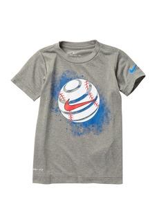 Nike NKB Skewed Baseball T-Shirt (Little Boys)