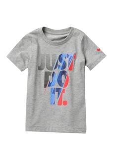 Nike NKB Slash 'Just Do It' T-Shirt (Little Boys)