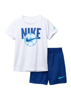 Nike NKB Sport T-Shirt & Shorts Set (Toddler Boys)