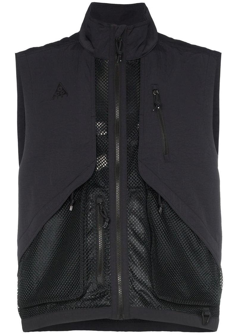 Nike NRG AGC zipped mesh vest