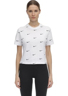 Nike Nrg Swoosh Logo Cotton T-shirt
