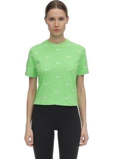 Nike Nrg Swoosh Logo Cotton T-shirt