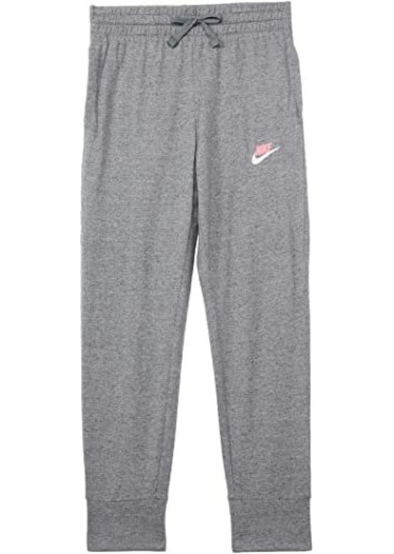 Nike NSW 7/8 Jogger Pants Jersey (Little Kids/Big Kids)