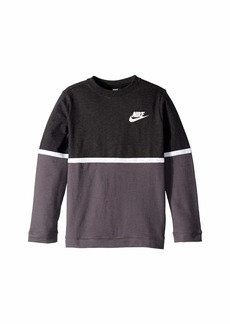 Nike NSW Advance Long Sleeve Crew (Little Kids/Big Kids)