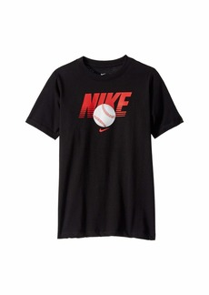 Nike NSW Baseball T-Shirt (Little Kids/Big Kids)
