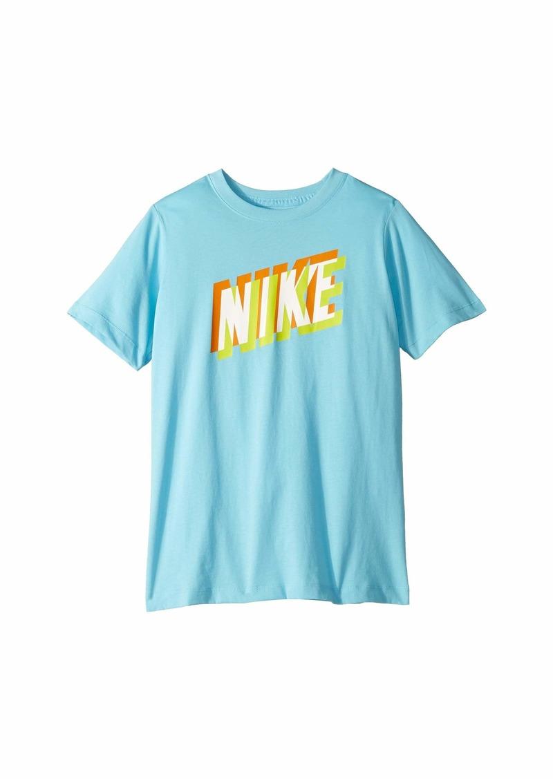 Nike NSW Block 3D T-Shirt (Little Kids/Big Kids)