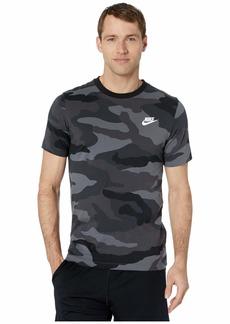 Nike NSW Camo All Over Print Short Sleeve Tee