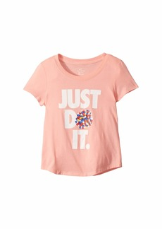 Nike NSW Cheer Scoop Tee (Little Kids/Big Kids)