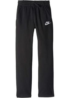 Nike NSW Club Fleece Open Hem Pants (Little Kids/Big Kids)