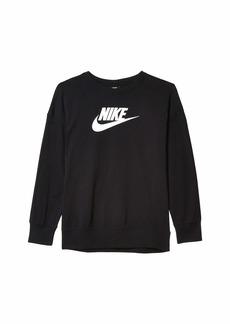 Nike NSW Crew Long Sleeve Jersey (Little Kids/Big Kids)