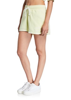 Nike NSW Drawstring Cotton Shorts  Green
