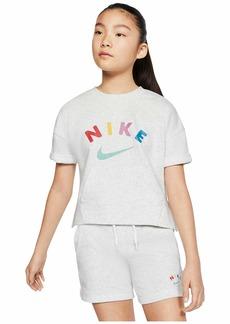Nike NSW Fleece Crew (Little Kids/Big Kids)
