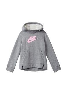 Nike NSW Fleece Pullover Hoodie (Little Kids/Big Kids)
