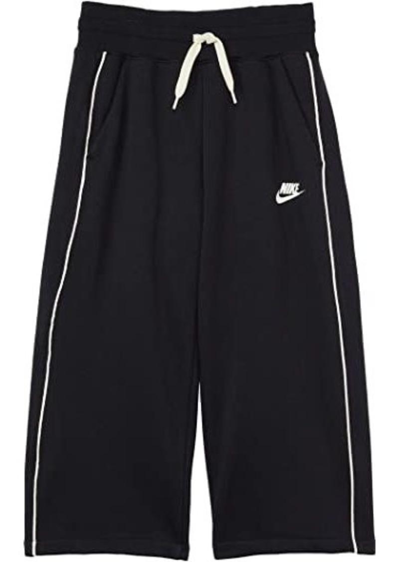 Nike NSW French Terry High-Waist Open Hem Pants (Little Kids/Big Kids)