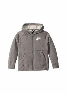 Nike NSW Full Zip Fleece (Little Kids/Big Kids)