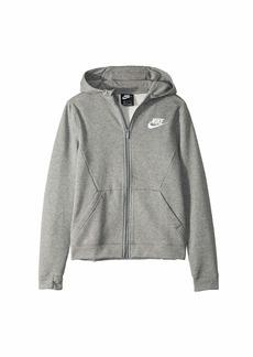 Nike NSW Full Zip Hoodie Club (Big Kids)