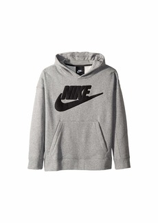 Nike NSW Graphic Pullover Hoodie (Little Kids/Big Kids)