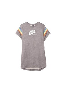 Nike NSW Heritage Short Sleeve Dress (Little Kids/Big Kids)