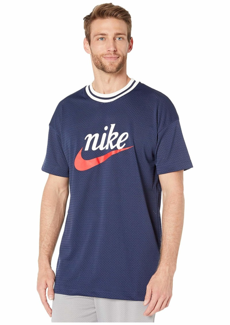 Nike NSW Heritage Top Short Sleeve Mesh Graphics