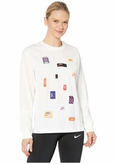 Nike NSW Icon Clash Long Sleeve Top