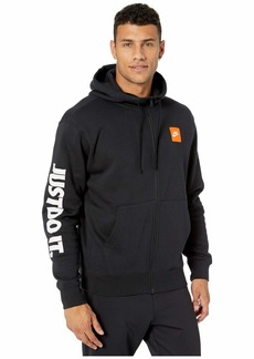 Nike NSW Just Do It Hoodie Full Zip Fleece Mix