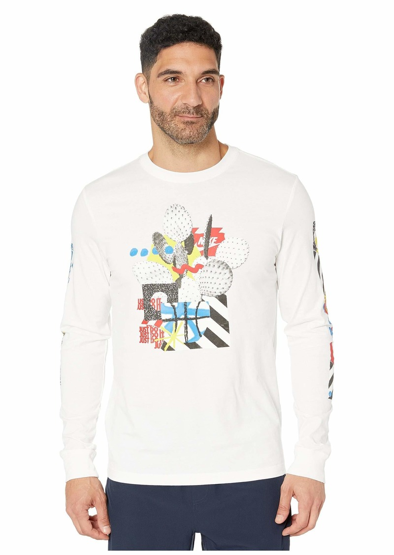 Nike NSW Long Sleeve Crew T-Shirt 4