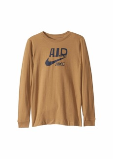 Nike NSW Long Sleeve Multi-Brand T-Shirt (Big Kids)