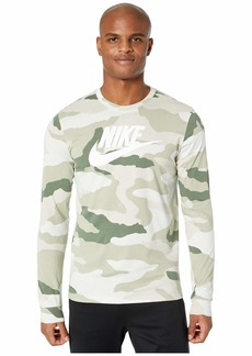 Nike NSW Long Sleeve Tee Camo
