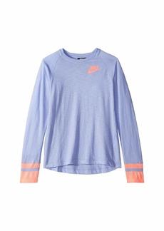 Nike NSW Long Sleeve Top (Little Kids/Big Kids)