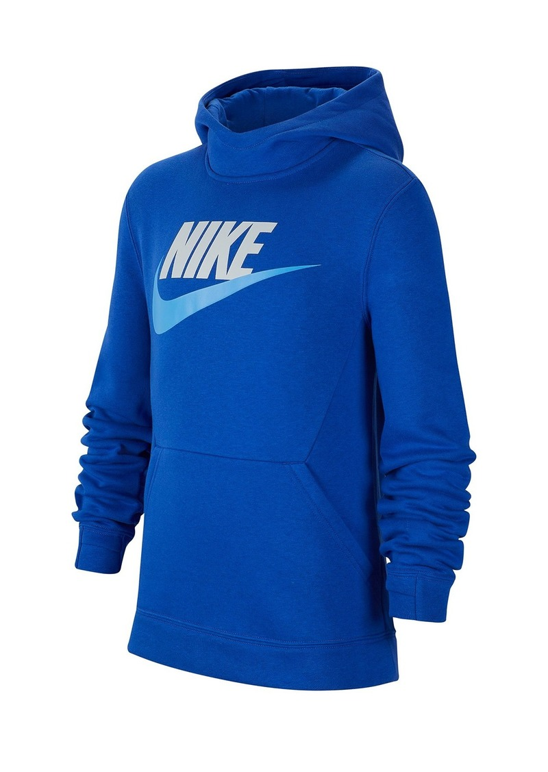 Nike NSW Mock Neck Hoodie (Big Boys)