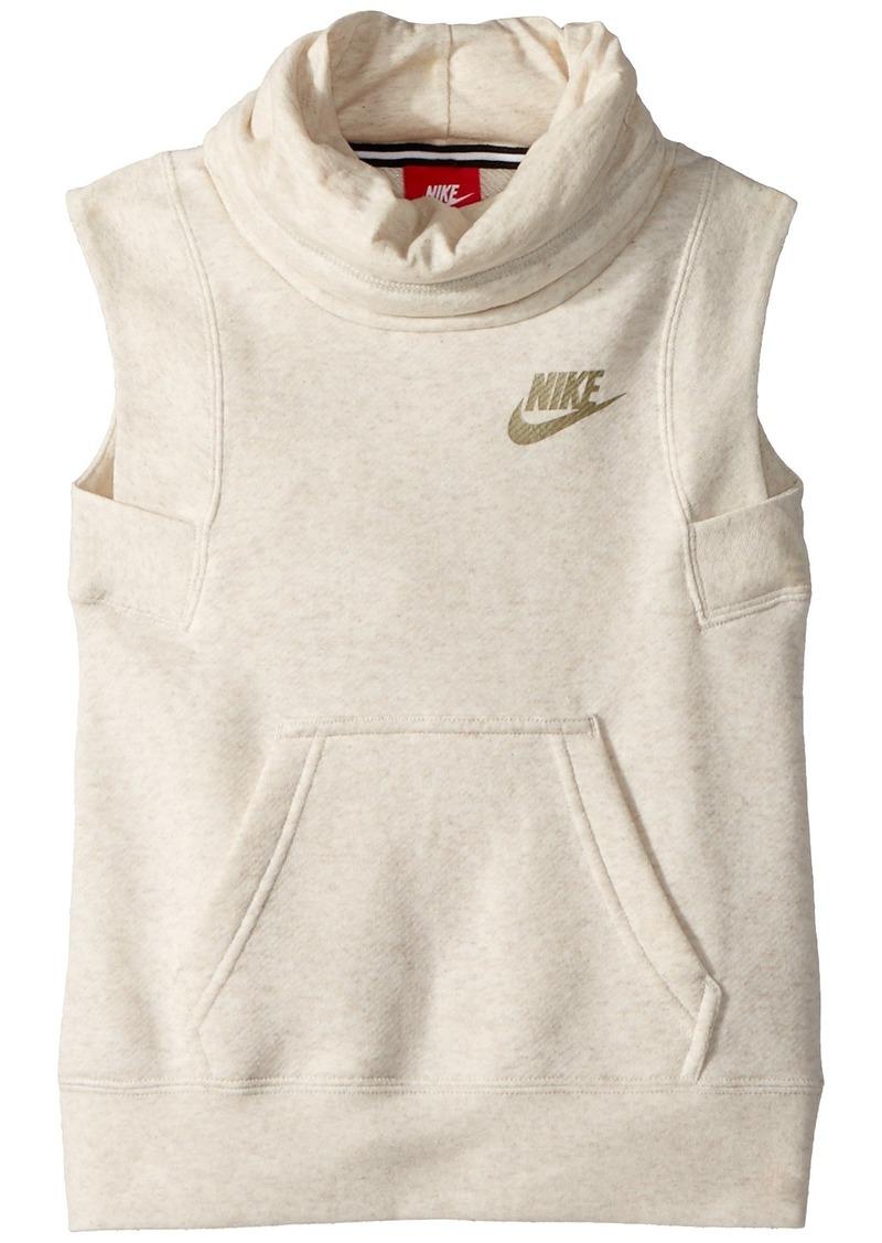 2bbaecb5497e Nike NSW Modern Sleeveless Funnel Top (Little Kids Big Kids)