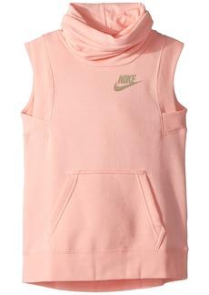 Nike NSW Modern Sleeveless Funnel Top (Little Kids/Big Kids)