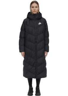 Nike Nsw Nylon Hooded Puffer Parka