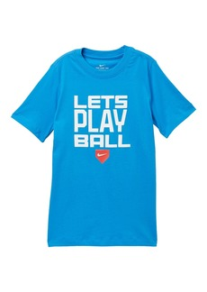 Nike NSW Play Ball Tee (Big Boys)